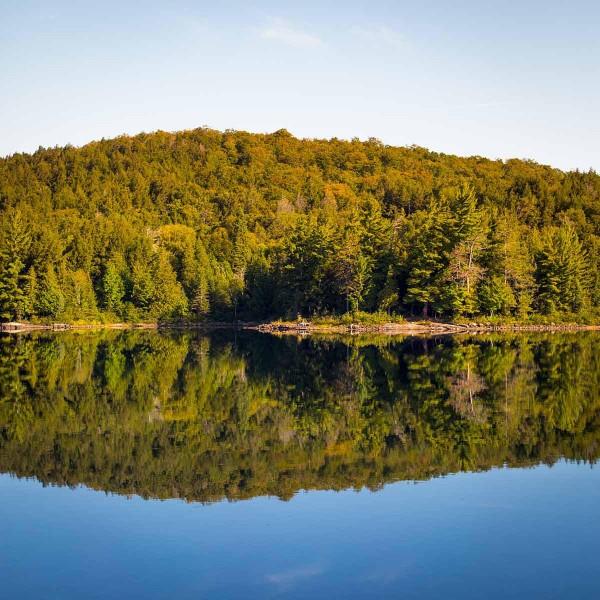 The First Camp Bongopix Canoe Trip